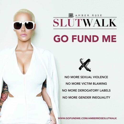 Slut walk go fund me