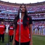 Video: Ciara Sings National Anthem At MLB All Star Game