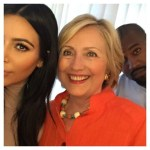 Kim Kardashian West and Kanye West Show Support For Hillary Clinton At LA Fundraiser