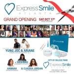 EVENT: Express Smile Atlanta Opens First Store Hosted Yung Joc, Ariane Davis, Shekinah Jo & Claudia Jordan