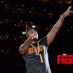 Photos: Jeezy Performs Half time at the Hawks vs Oklahoma City Thunder game in Atlanta, GA