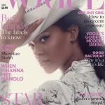 Rihanna Announces Collaboration Manolo Blahnik In British Vogue Magazine