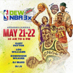 #Atlanta EVENT: @MountainDew & @NBA Presents #DewNBA3X