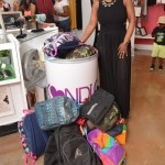PHOTOS: Kandi Burruss Hosts Annual #KandiCares School Supply Drive at Atlanta's TAGS Boutique