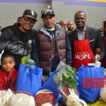 PHOTOS: TIP and Atlanta's Mayor Kasim Reed Bless Needy Families with Turkey Dinners!