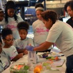 Food Network' Chef Tregaye partners with Saving Our Daughters for a Junior Chef Summer camp at the acclaimed Ron Clark Academy