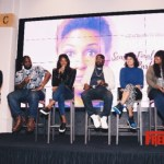 HBO's Insecure Stars Lil Rel and Yvonne Orji Attend the Bossip Season Finale Watch Party & Panel at The Gathering Spot in Atlanta