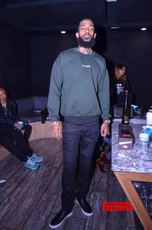 New Music Alert! Nipsey Hussle Private Listening session of