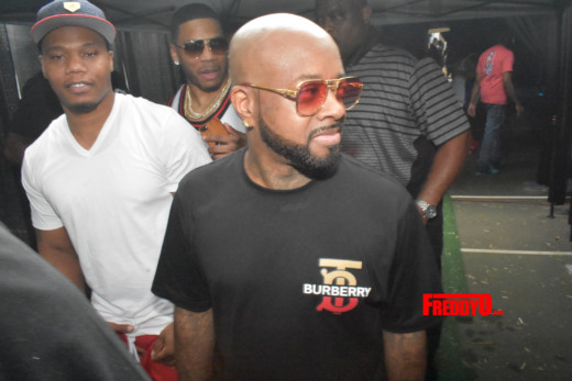 Tycoon Pool Party Hosted by Chris Brown, Trey Songz, 50 Cent