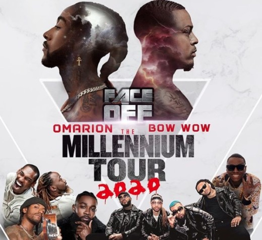 Omarion & Bow Wow Announce the Millennium Tour 2020 ...  |Bow Wow 2020 Body