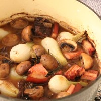 Boeuf Bourguignon, perfect on a cold grey day