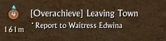 Turn in for bonus rewards.