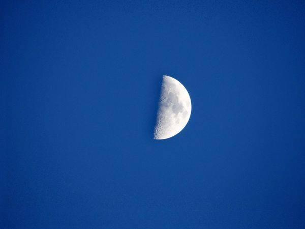 Méditation du Premier Quartier de Lune