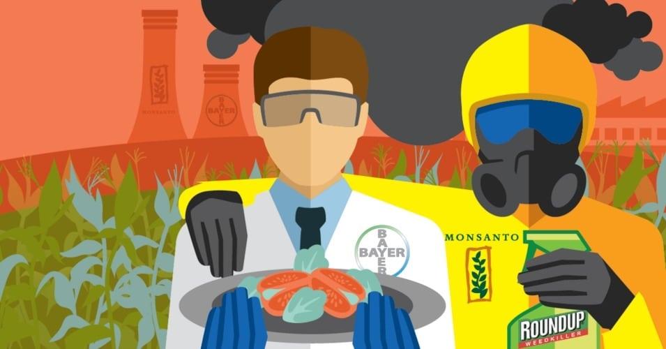 illustration Monsanto