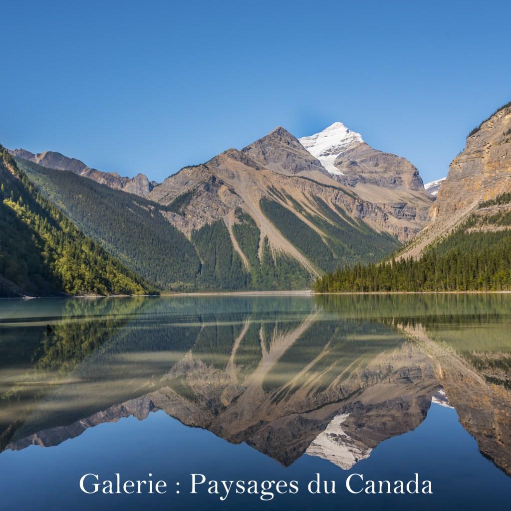 Cliquez ici pour accéder à la galerie : Paysages du Canada
