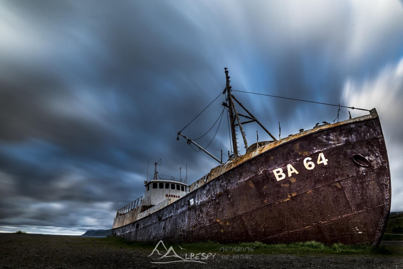 Épave du Gardar BA-64 (Fjord du Nord Ouest) n°0834