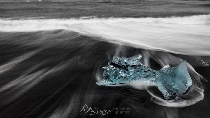 Diamond beach (Jökulsárlón) n°0824