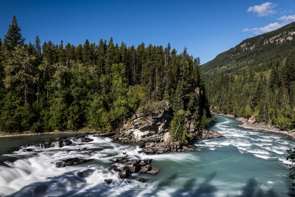 Rearguard Falls (Mount Robson Provincial Park - Colombie Britannique) n°0617
