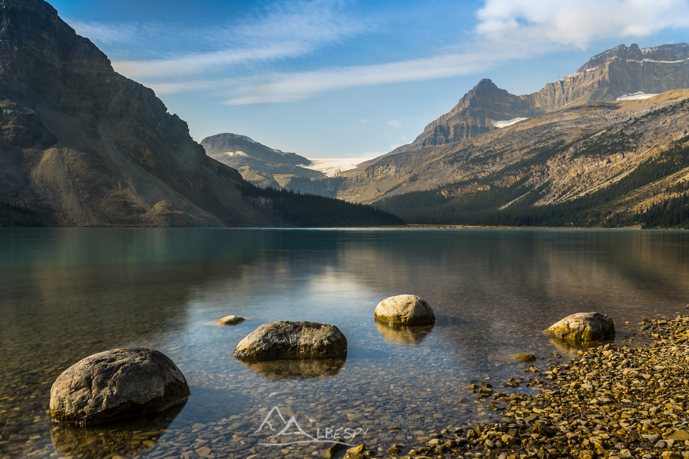 Bow Lake (Parc National de Banff - Alberta) n°0603