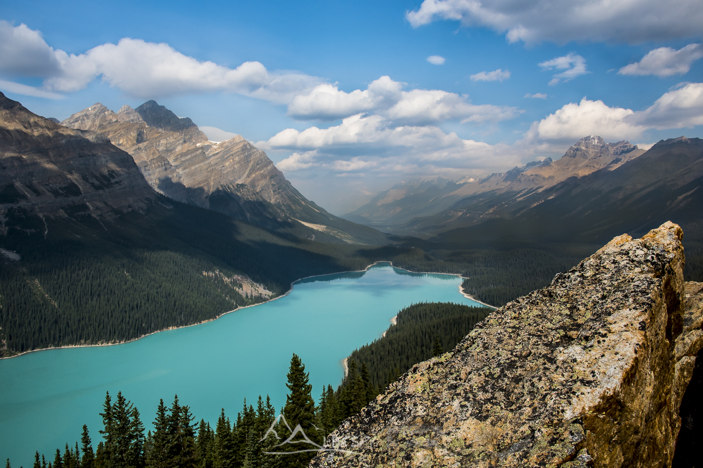 Peyto Lake (Parc National de Banff - Alberta) n°0602
