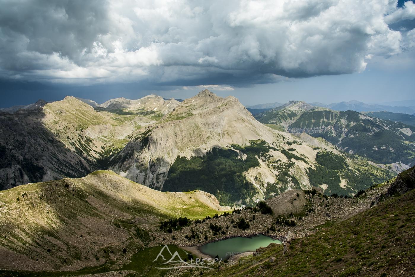 Pas de Lausson (Parc National du Mercantour - Alpes) n°0406