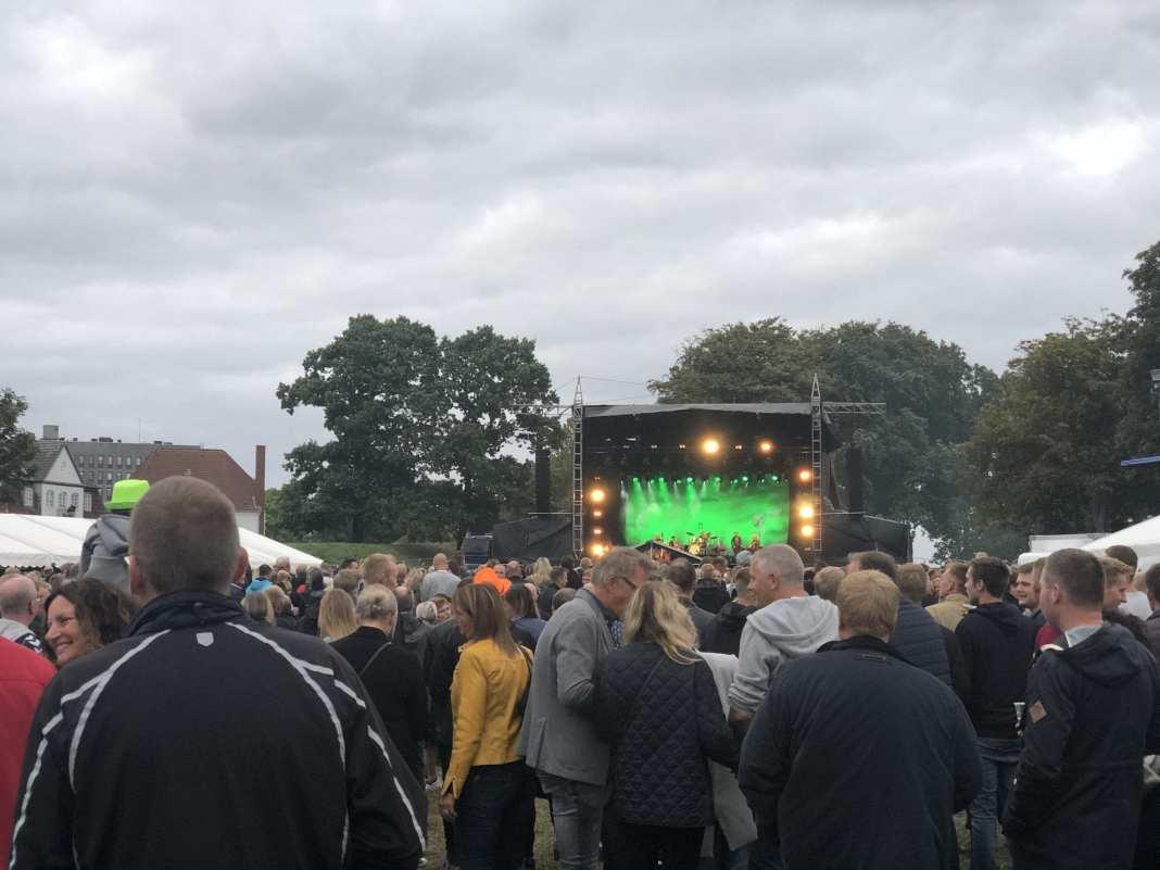 Kim Larsen & Kjukken. 18. August, 2018. Foto: Andreas Dyhrberg Andreassen, Fredericia AVISEN.