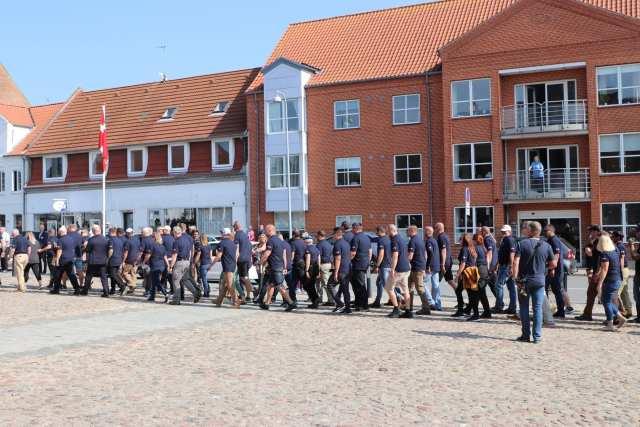Flagdag i Fredericia med royalt besøg. Foto: Andreas Dyhrberg Andreassen, Fredericia AVISENd.