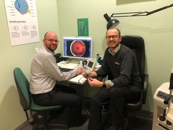 1fa3dd97a91a Lokal Fredericia-optiker tilbyder gratis synstjek