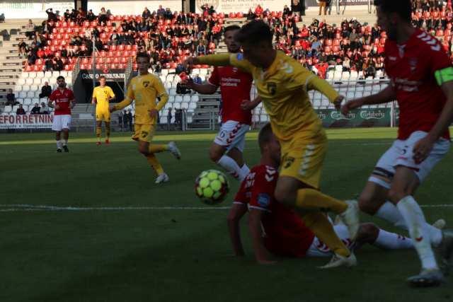 Vejle Boldklub - FC Fredericia. 14. august 2019. Foto: Thomas Lægaard, Fredericia AVISEN