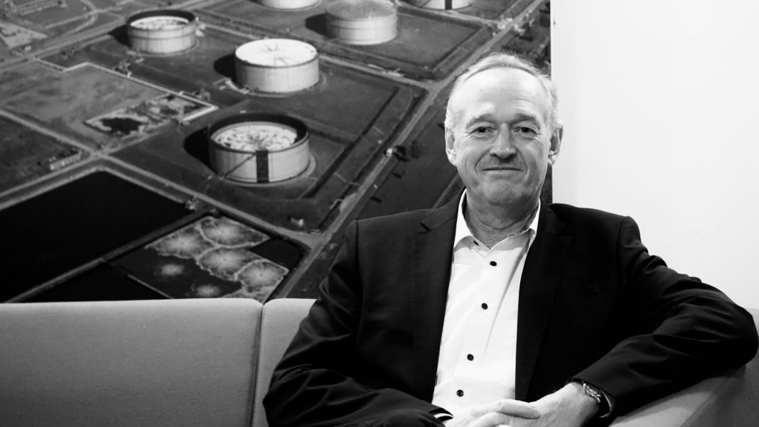 Thomas Griepp, GM. Shell Raffinaderiet Fredericia. (Foto: Andreas Dyhrberg Andreassen/Fredericia AVISEN)
