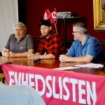Enhedslisten afholdt pressemøde med nyt kandidathold