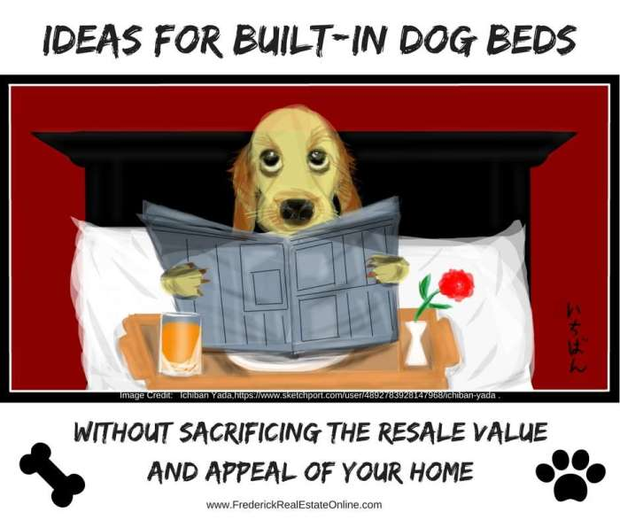 Home Design Trend – Built-In Dog Beds