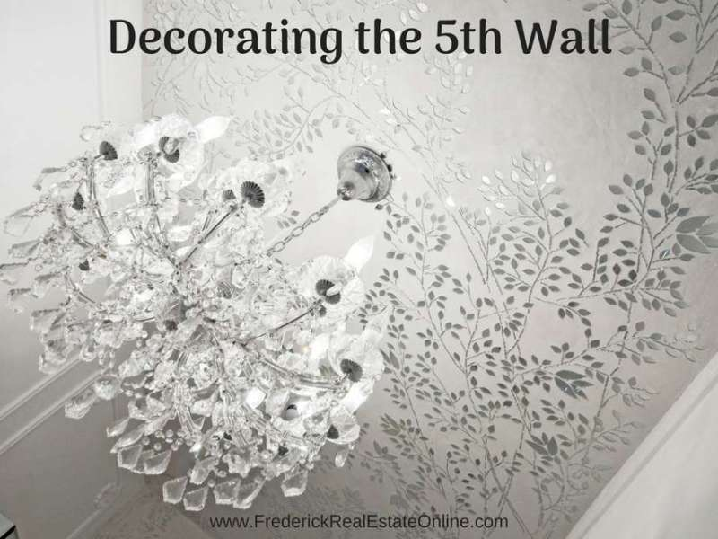 decorating the ceiling