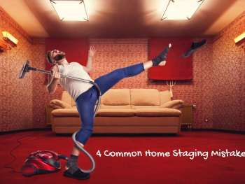 common home staging mistakes
