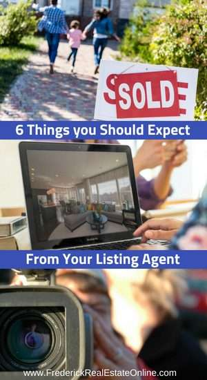 Things You Should Expect From A Listing Agent