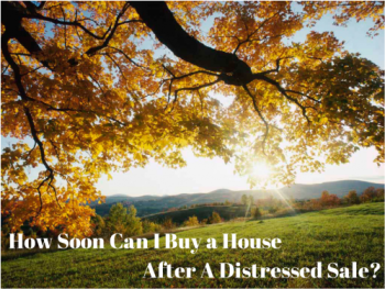how soon can I buy a home after a short sale
