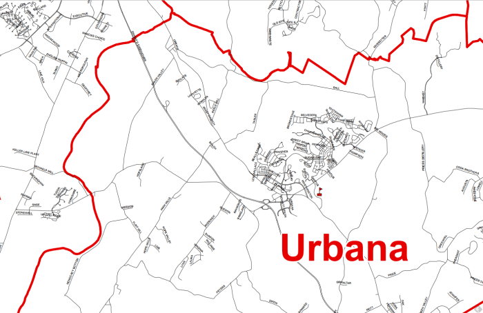 Homes for Sale in Urbana Md
