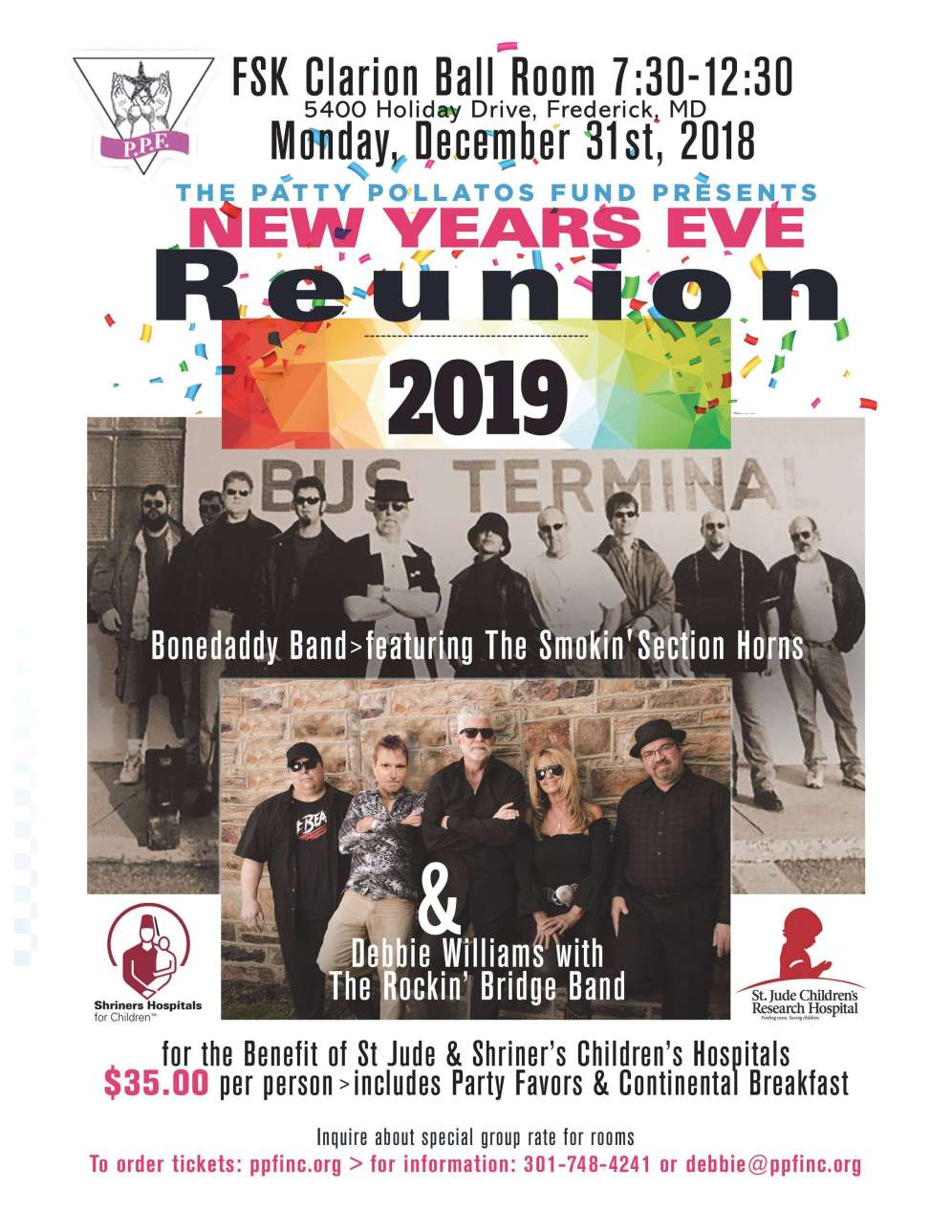 New Years Eve Party Frederick MD