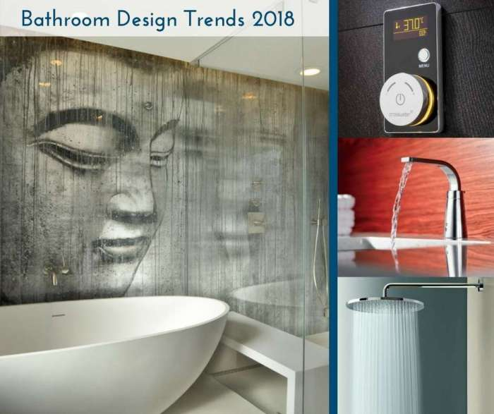 Bathroom design trends for New bathroom trends 2017