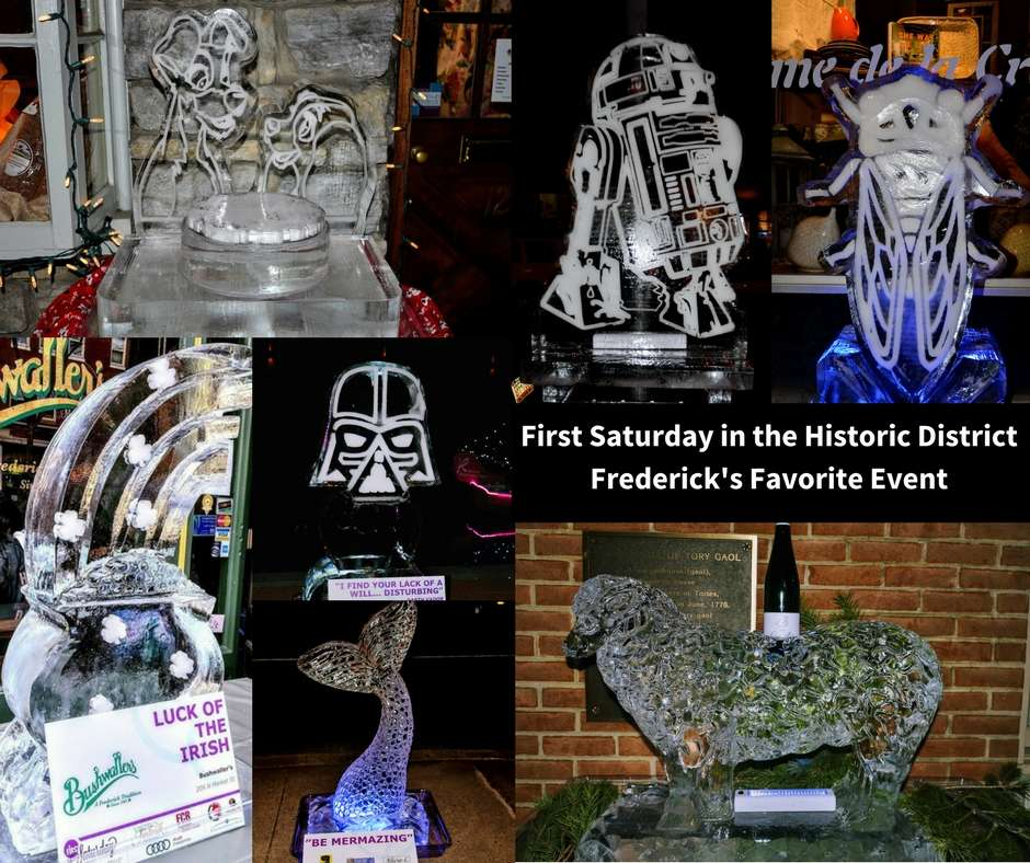 First Saturday in the Historic District – Frederick's Favorite Event
