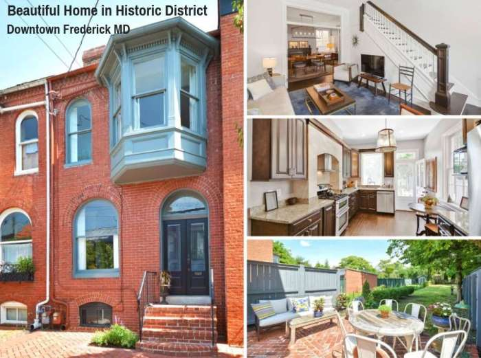 Beautiful Home in Historic District Downtown Frederick MD