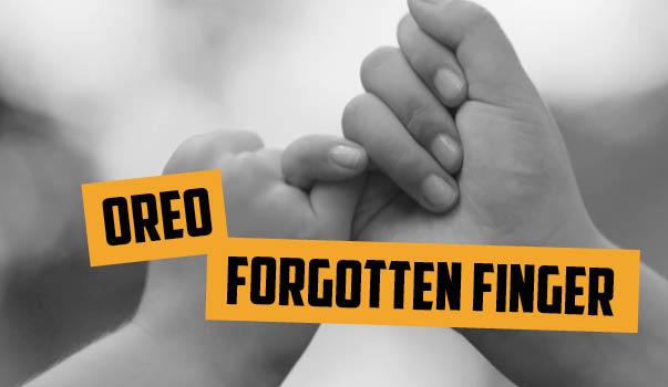 """Blog 18vs80 Oreo """"An Ode to the Forgotten Finger"""""""
