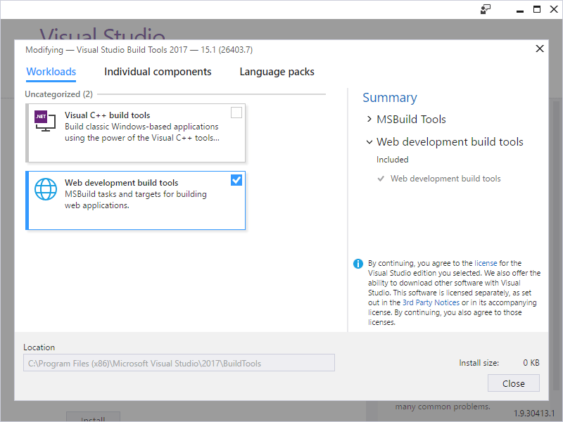 How to build your solutions without Visual Studio installed