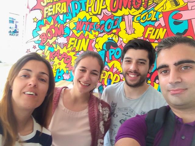 galerie d'art espaco cidade galeria arte Agueda art gallery umbrella equipa