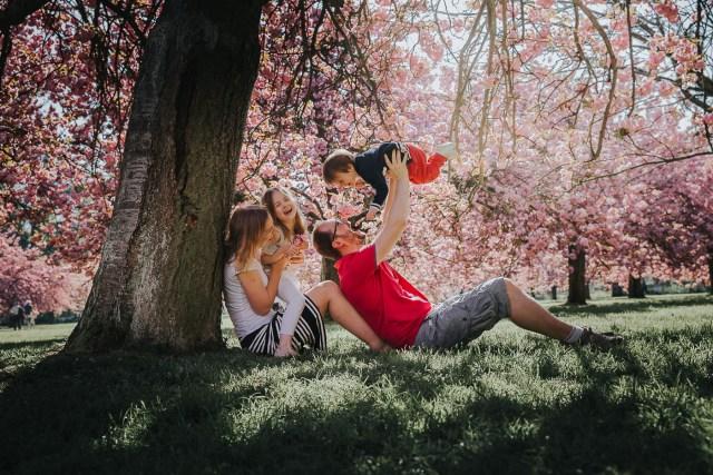 famille parc de sceaux cerisiers photographe frederico santos