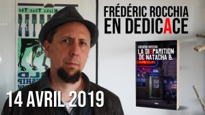 Frederic Rocchia en dedicace le 14 avril 2019