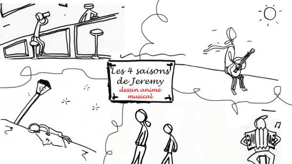 Les 4 saisons de Jeremy – Dessin animé musical