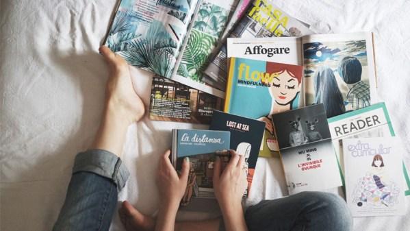 Et toi tu lis quoi dans ton lit?