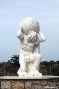 Anthony Quinn Bay - Atlas Carrying the Earth