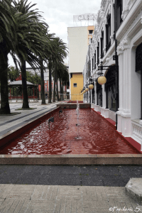 A red water